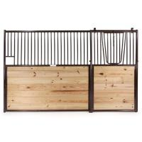 Best Bamboo Infill Horse Stable Doors Dutch With Double Wooden Sliding Door wholesale