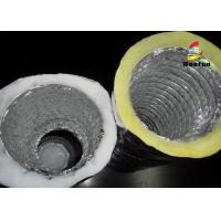 Best Air Conditioning Fiberglass Flame retardant Aluminum Insulated Flexible Ducts wholesale