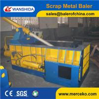 Best Side Push out scrap steel balers to compress Tin Cans with 100ton Hand Valve Control wholesale