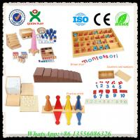 China Wooden Educational Toys Montessori Materials Montessori Toys for Sale on sale