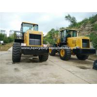 Cheap 5 Tons Loading Capacity Wheeled Front End Loader 857 Model with Grass Grapple for sale