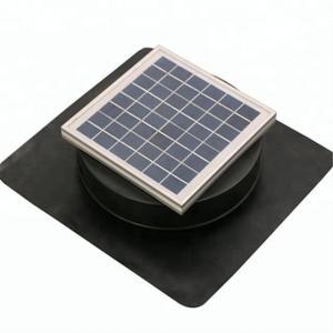 6W Solar powered Roof exhaust ventilation solar attic vent fan 12v dc