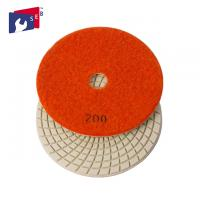 Best Economic Loop Tape 3 Inch Polishing Pads High Gloss With Spiral Shape wholesale