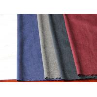 Best One Side Wool Coating Fabric 25% Viscose 35% Polyester For Dry Cleaning Dress wholesale