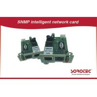 Best Remote Monitoring UPS Accessories , SNMP / AS400 Card For UPS wholesale