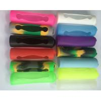 Best e cig accessarie silicon cover for e cigarette 18650 battery silicon rubber case holder wholesale