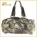 Best Fashion Popular Lady Washed PU Leather Handbag wholesale