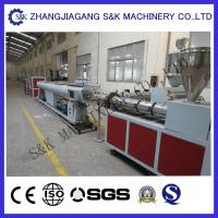 Best Soft PVC Pipe Extruder Machine Single Screw Extrusion Process wholesale
