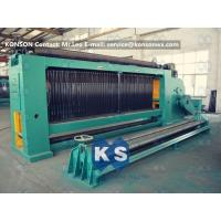 Buy cheap Chemical Industrial Gabion Machine for Double Twisted Woven Wire Mesh product