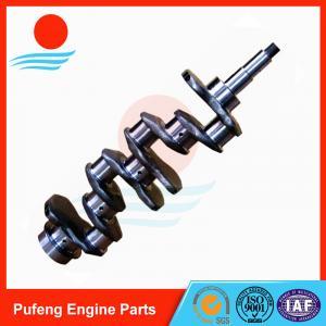 China Engineering Machinery Crankshaft V2203 for Kubota harvester excavator tractor 1G851-2301-7
