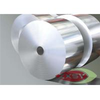 Best 1040mm Wide Aluminium Foil Roll , AL Foil Jumbo Roll Heat And Acoustic Insulation wholesale