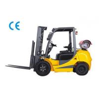 Best Dual Fuel Four Wheel Gasoline LPG Forklift 3000kg Capacity With Engine Protection Lock wholesale