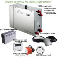 Buy cheap Turkish  Commercial Steam Generator With Waterproof touch screen controller product