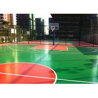 China Multi Purposed PU Outdoor Sports Court Flooring Thick For Basketball Court on sale