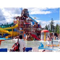 Best Outdoor Playing Water Playground Equipment Platform Height 18m for Children, Adults wholesale