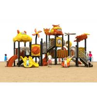 China Toddler StainlessSteel Plastic Outside Play Equipment With Galvanized Stair on sale