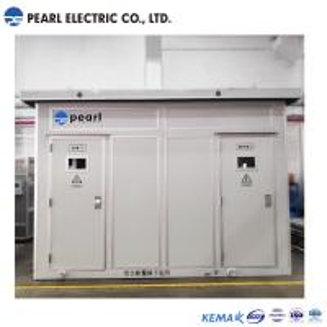 Best 2400 Kva 35 Kv Prefabricated Substations In Box type Aluminum Alloy Enclosure wholesale
