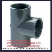 Best Sell High Quality PVC Pipe Fitting-PVC Plain Tee info@wanyoumaterial.com wholesale
