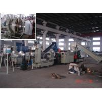 Best Pipe Bottle Plastic Recycle Machine 500 - 600kg / h Screw Dia 160mm wholesale