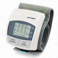 Best Wrist Blood Pressure Monitor with 30 Seconds Automatic Switch-off, Date and Clock Functions wholesale