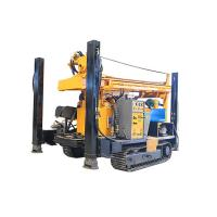 Best FY200 200m CRAWLER HYDRACULIC WATER WELL DRILLING RIG  machine portable water well drilling rigs deep drill rig truck wholesale