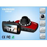 Cheap Night Vision HD 720P Dual Camera Car DVR H.264 With Cycle Recording for sale