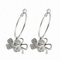 Best Fashionable Earrings, Made of Alloy, Available in Various Styles wholesale