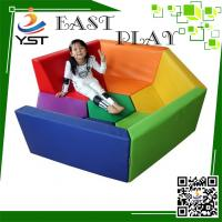 China Safe And Fun Soft Play Sponge , Daycare Playground Equipment 450 * 100 * 60 Cm on sale