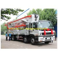 Best ISUZU Japan concrete pump truck 65m3 / h with 25 meters boom with warranty and parts wholesale