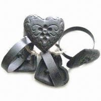 China Napkin Ring for Home Decoration, Handmade, Made of Cast Iron on sale