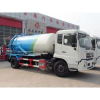 China 8000 Liters Special Purpose Truck Dongfeng Jet Vacuum Suction Sewage Tanker Truck on sale