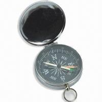 Best Mini Compass with Plastic Case, Small Metal Ring on Top, Customized Colors are Welcome wholesale