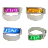 Best Custom flashing led message display belt buckle wholesale