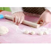 China Kitchenware 50*40cm Anti Slip DIY Silicone Mat For Baking , Eco - Friendly on sale