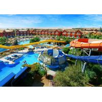 China Thrilling Space Bowl Huge Water Slide Indoor / Outdoor Custom For Kids And Family on sale