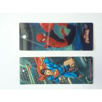 Best Custom Plastic 3D Lenticular Bookmarks Printing With 3D Effect CMYK Printing wholesale