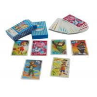 Best Offset Printing Custom Board Game Cards / Childrens Playing Cards 54pcs 57*87mm wholesale