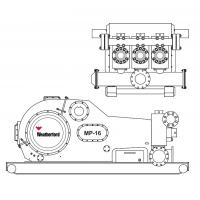 China Weatherford MP16 mud pump fluid end module, liners, pistons, valevs same as Weatherford on sale