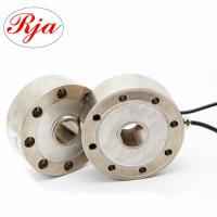 Best 30 Ton 50ton Analog Output Spoke Type Load Cell , Industrial weighing donut compression load cell wholesale