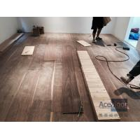 Best Customized 20/6 x 300 x 2200mm AB grade American Walnut Flooring for Philippines Villa Project wholesale