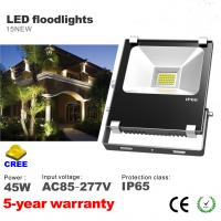 Best 45W LED Floodlight CREE SMD LED Bulbs 85-277VAC Waterproof squares foold light wholesale