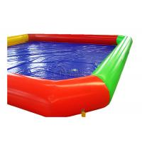 Best 0.9mm PVC rectangle inflatable poolInflatable Above Ground Pools For Renting wholesale