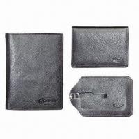 Best Promotional Gift Set in Genuine Leather, Customized Designs are Welcome wholesale