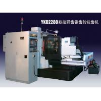 China TMTW CNC spiral bevel Gear generator controlled by SIEMENS 802D moved simultaneously on sale