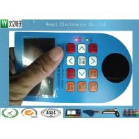 Buy cheap Side Light LED Backlit Embossing keys Membrane Switch with Polydome from wholesalers