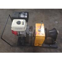 Cheap Petrol Driven 5 Ton High Speed Winch / Gasoline Powered Portable Capstan Winch for sale