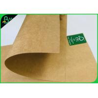China FDA Certified Brown Kraft Paper Board 250gsm 300gsm Food Container Paper Roll on sale