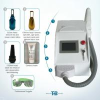 Best stronger   Pulsed Q Switch Nd Yag Laser Tattoo Removal equipment  3 Treatment Heads/white color/pigment  removeal wholesale