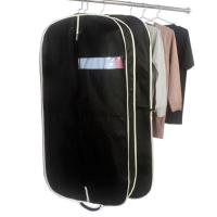 China Customized Zippered Garment Bags Nonwoven Fabric Mens Suit Garment Bag on sale