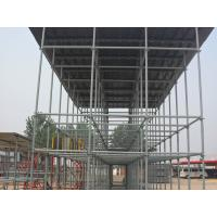 China Concrete steel frame formwork scaffolding roof system / need no couplers timbers on sale